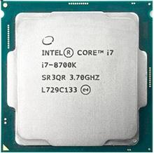پردازنده CPU اینتل Core i7-8700K 3.7GHz LGA 1151 Coffee Lake TRAY CPU